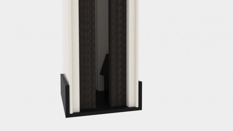 Zanzariera Apertura Verticale Batflex: Ingegno (M31)