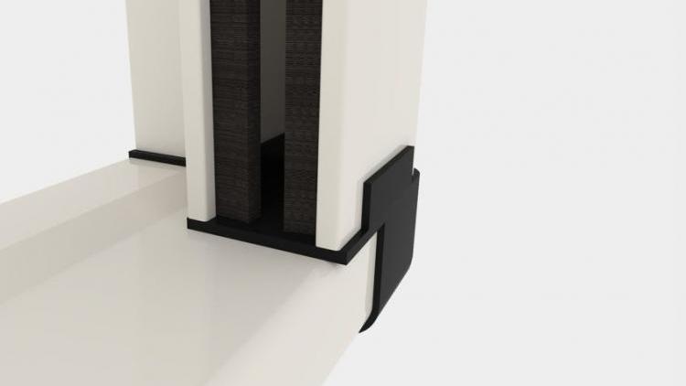 Zanzariera Apertura Verticale Batflex: Talea (E45)