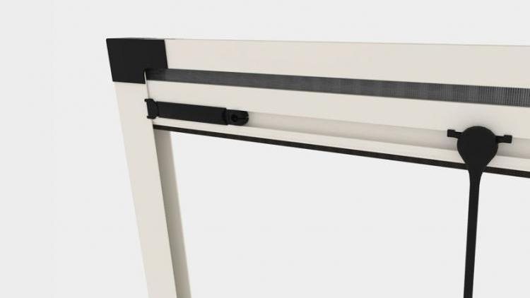 Zanzariera Apertura Verticale Batflex: Plié verticale