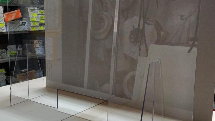 Schermo protettivo Plexiglass misura finito