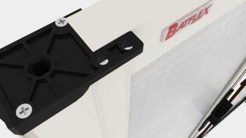Zanzariera Apertura Laterale Batflex: Indole (LD31 standard)