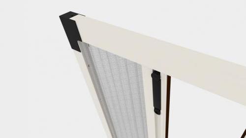 Zanzariera Apertura Laterale Batflex: Plié centrale