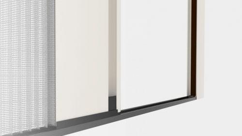 Zanzariera Apertura Laterale Batflex: Arabesque L18 (Pliflex L18)