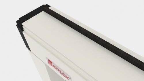 Zanzariera Apertura Verticale Batflex: Sintesi (INCM45)
