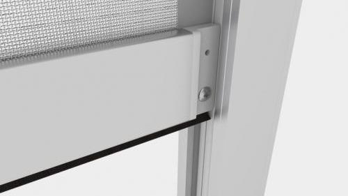 Zanzariera Apertura Verticale Batflex: Piroetta 90 (Motor zip 90)